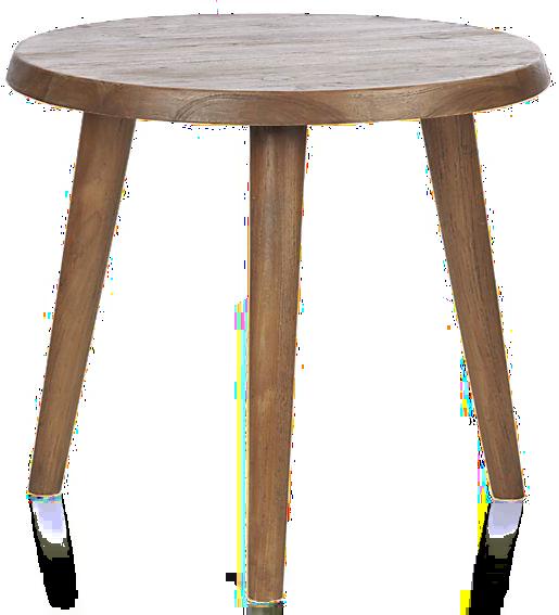 Edgewood Round Side Table - $199