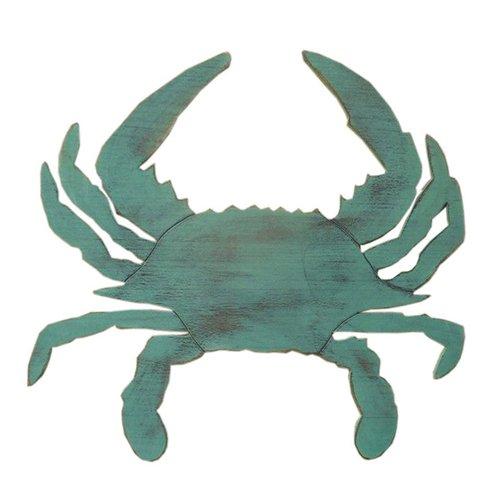 Rustic Crab Wall Décor - Coastal Blue - $76.99