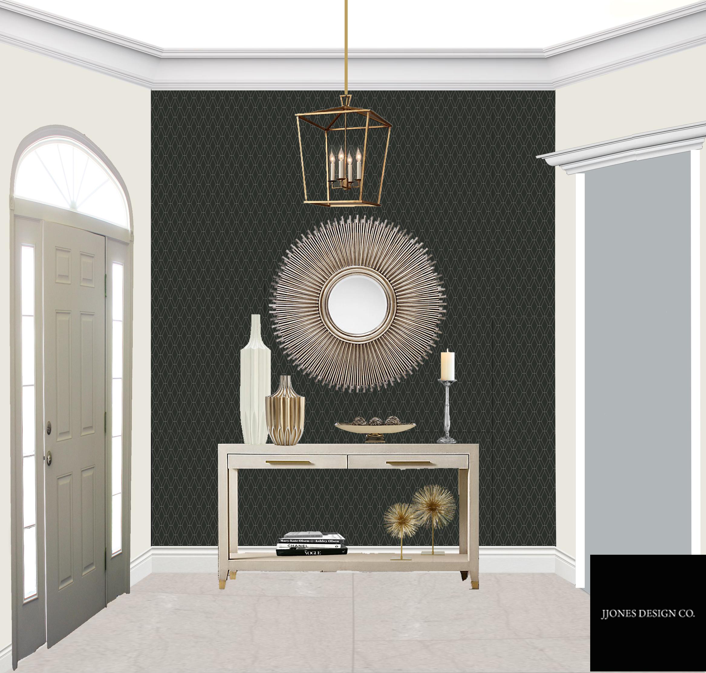 Luxury Foyer E-Design