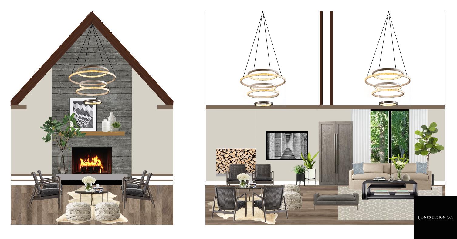 Luxury Living Room E-Design