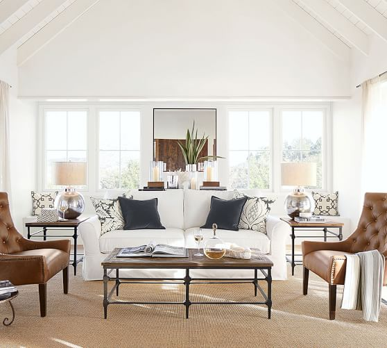 Living room design inspiration by  Pottery Barn