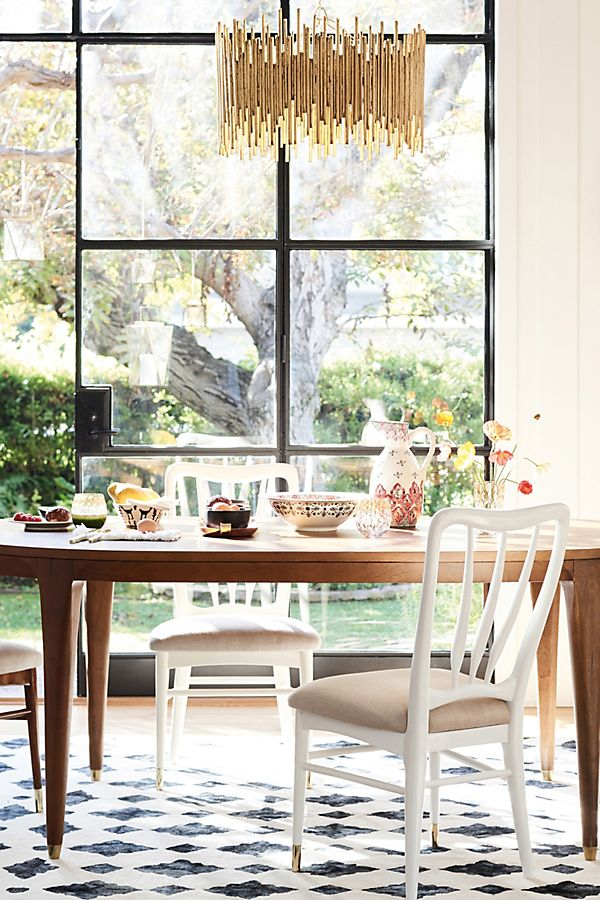 Dining room design inspiration by  Anthropologie