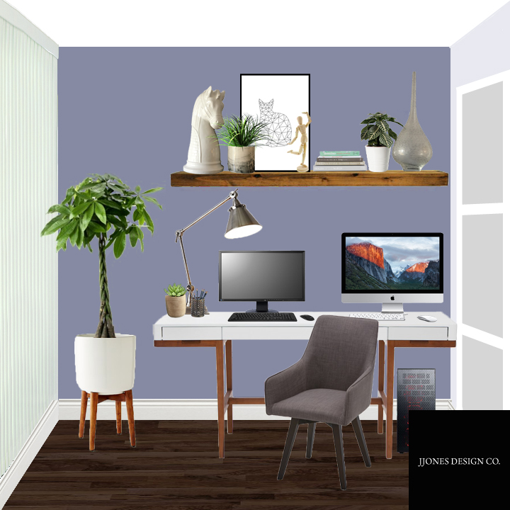 This is our design proposal for our office makeover project.