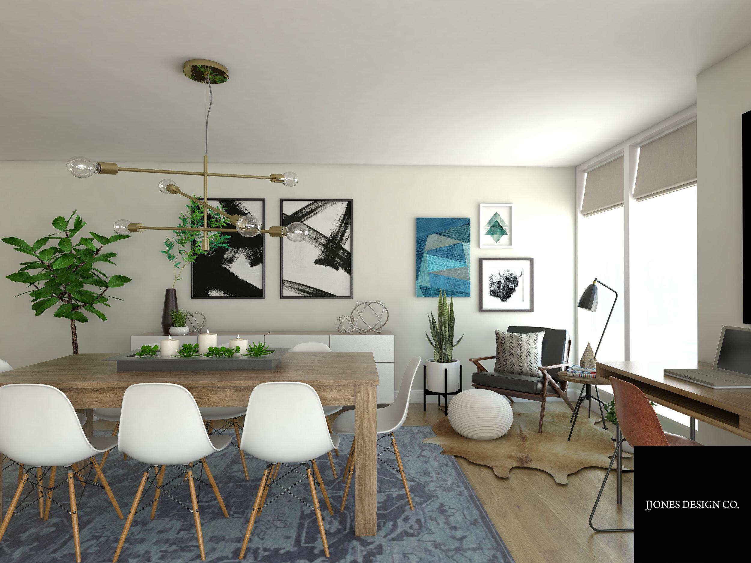 Modern Boho Dining Room 3D Rendering.jpg