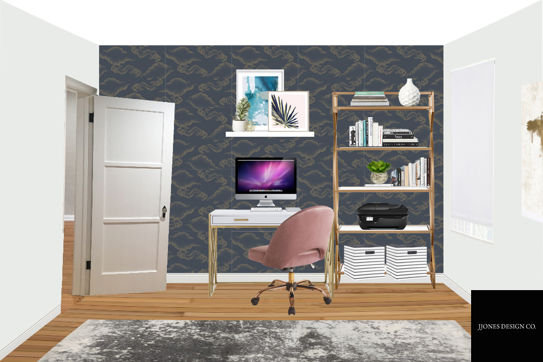 Modern Eclectic Office Guest Room 2.jpg