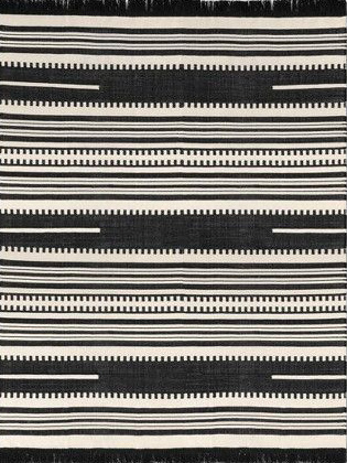 Stripe Woven Accent Rug Black - Opalhouse.jpg
