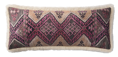 Corinne Lumbar Pillow, Multi and Ivory copy.png