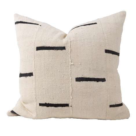 Rainey One Of A Kind Mudcloth Pillow, Ivory copy.png