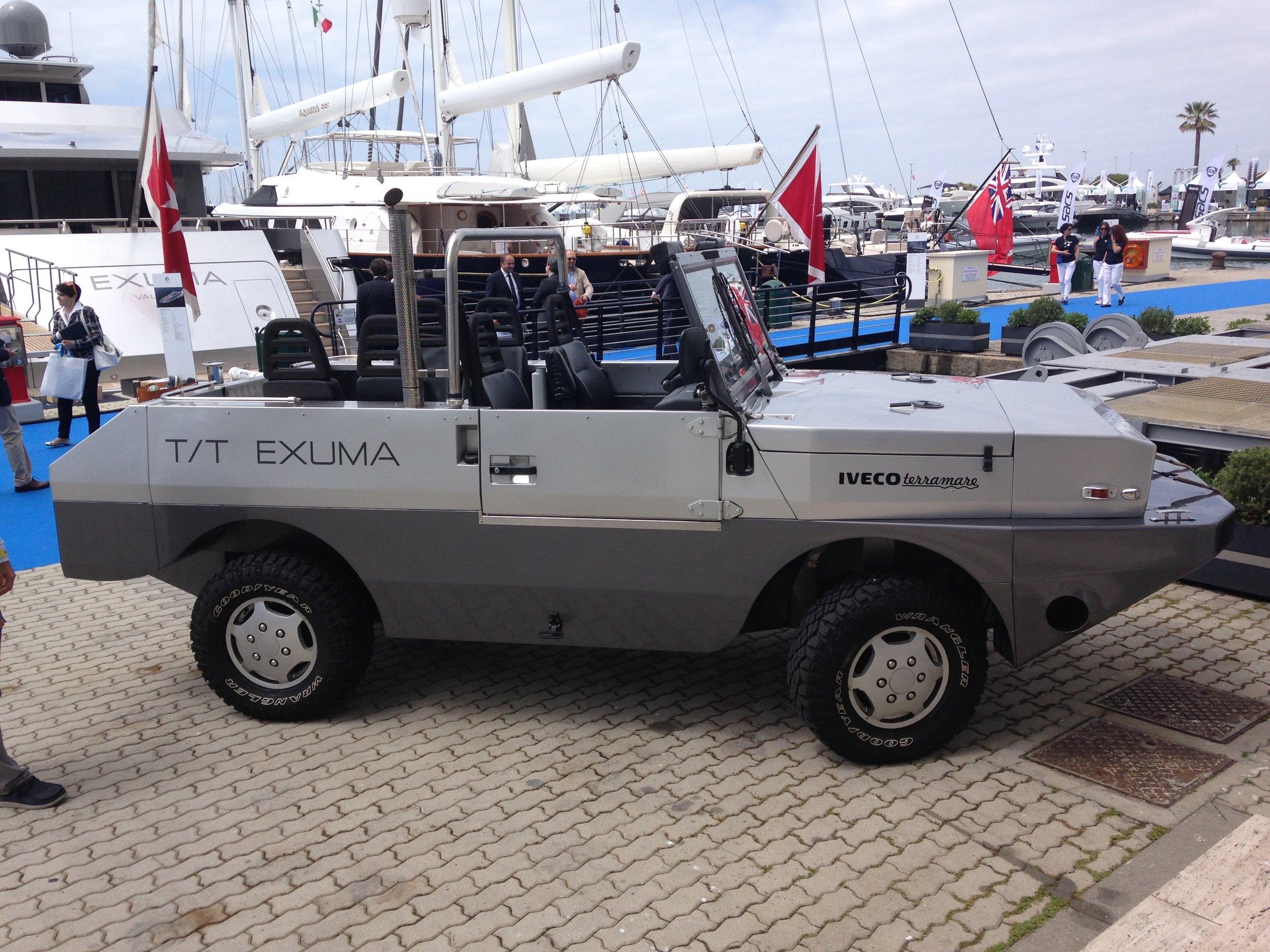 Amphibious Tender for M/Y Exuma