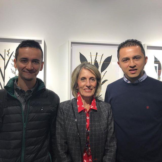 Exposición de @lagosmiler y @ewmonsalve en la Embajada de Colombia en Madrid.