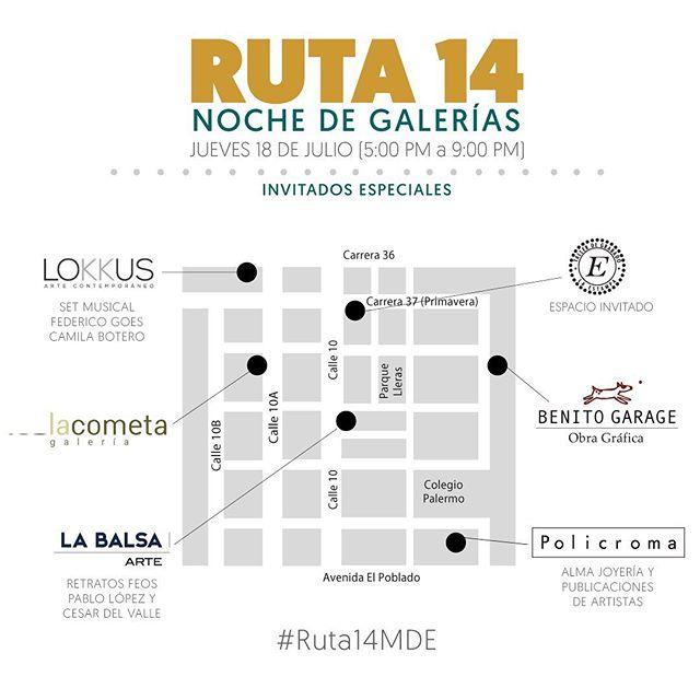 Sin falta, la cita es hoy en el TALLER DE GRABADO LA ESTAMPA, invitado especial de la RUTA 14 @tallerlaestampa #grabado #arte