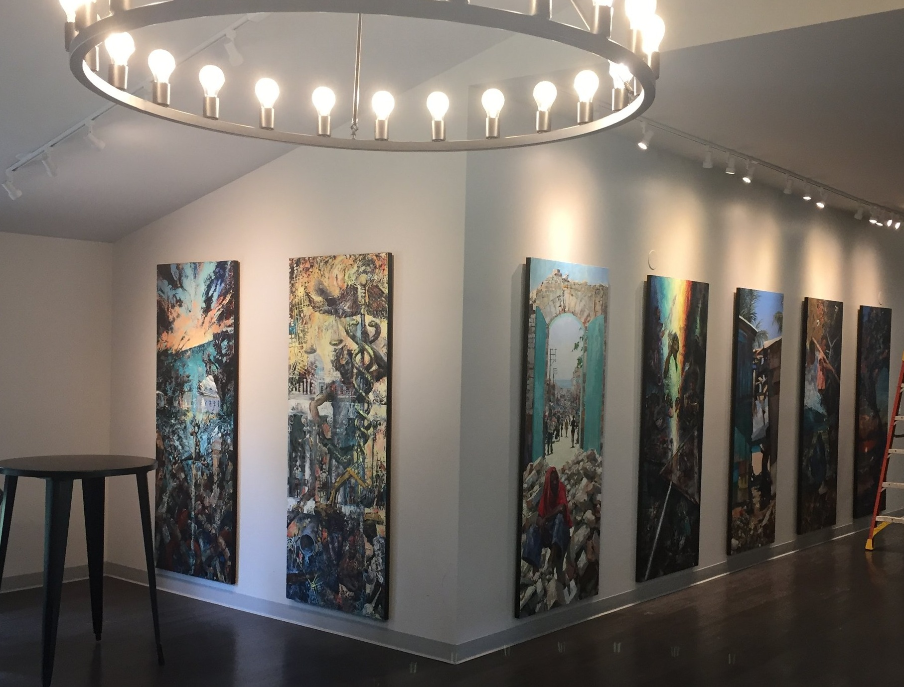 The Beyond the Ruins- Haiti show is currently on display at Threshold church in Weddington, NC and will be up for the summer. There will be an artist reception on Friday July 12 from 7-9pm. All are welcome.