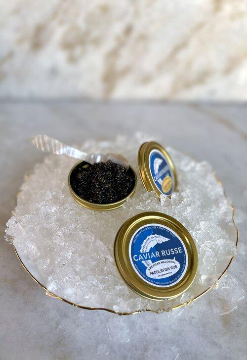 30 Gram Tin Domestic Paddlefish Caviar