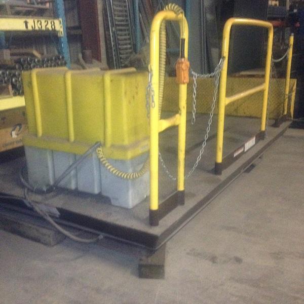6' x 10' Scissor Lift | 5000 lb Capacity | 3-Phase-460 | $6500