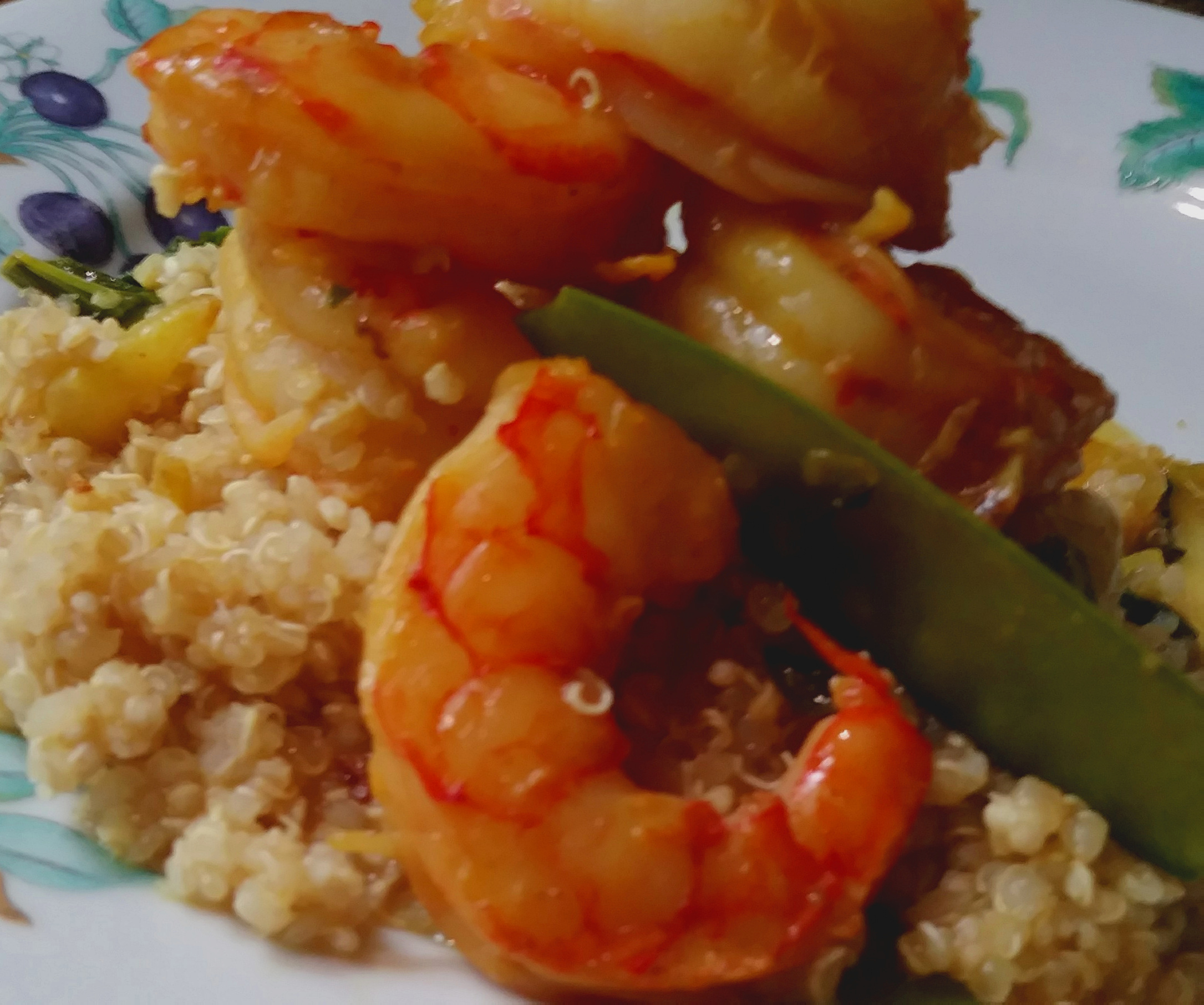 - Coconut Shrimp with Quinoa