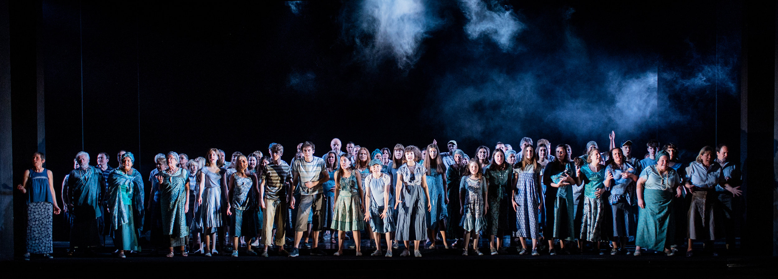 Glyndebourne Youth Opera and Community Chorus   AGREED  ©Glyndebourne Productions Ltd. Photo: Robert Workman 2019