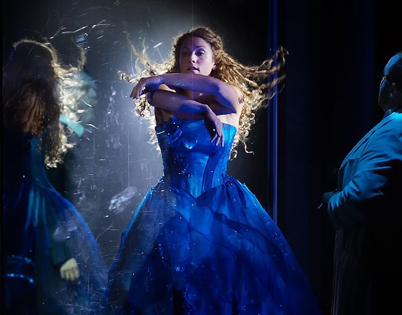 Sophie Thorpe dancing as Cendrillon double  CENDRILLON  at Glyndebourne (Tour), October 2018 Photo: Bill Knight