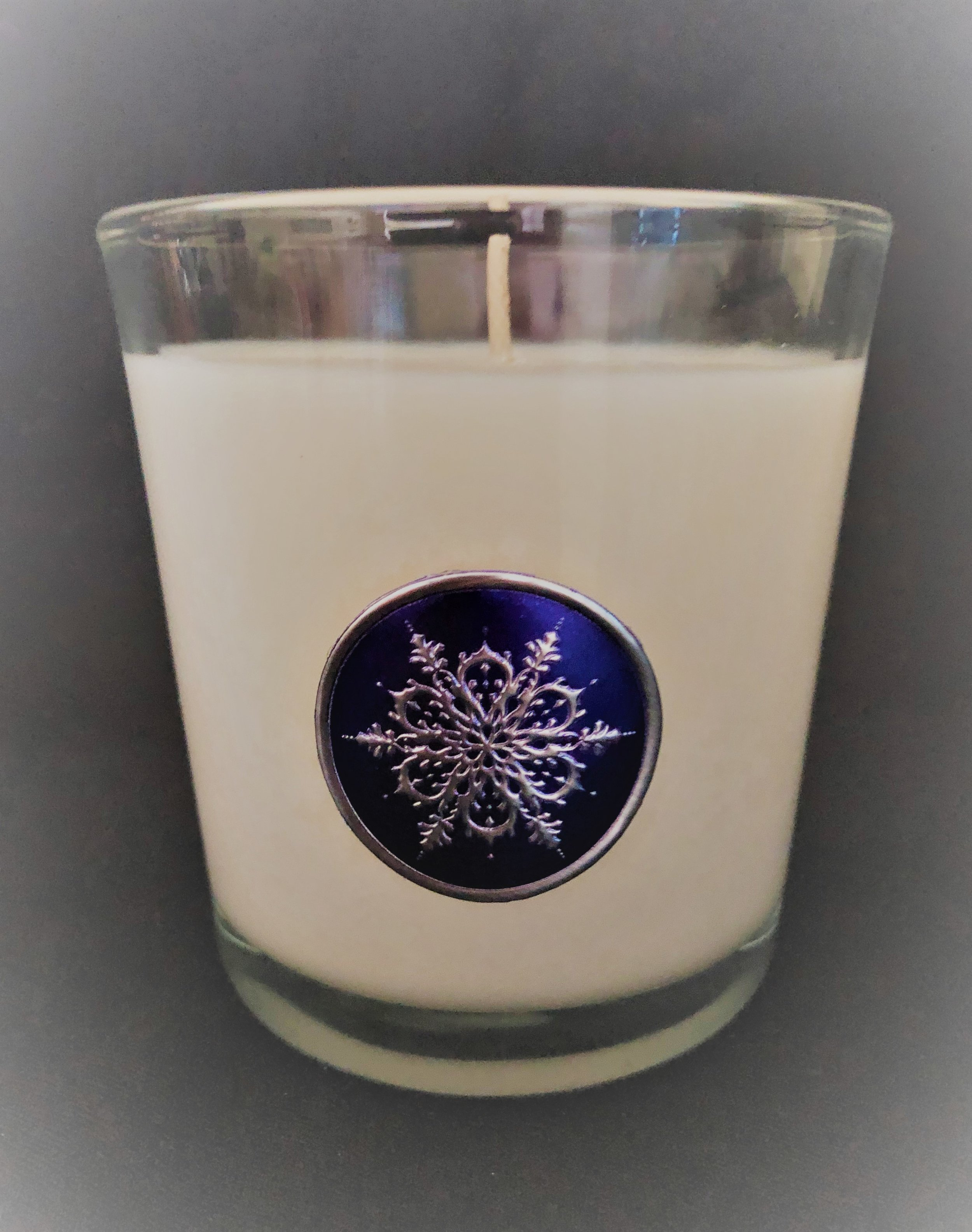 The 9 oz tumbler pictured here is featured in our striking holiday packaging. Tumbler as shown is $15 each. Sold in groups of 6 with same dye and fragrance.