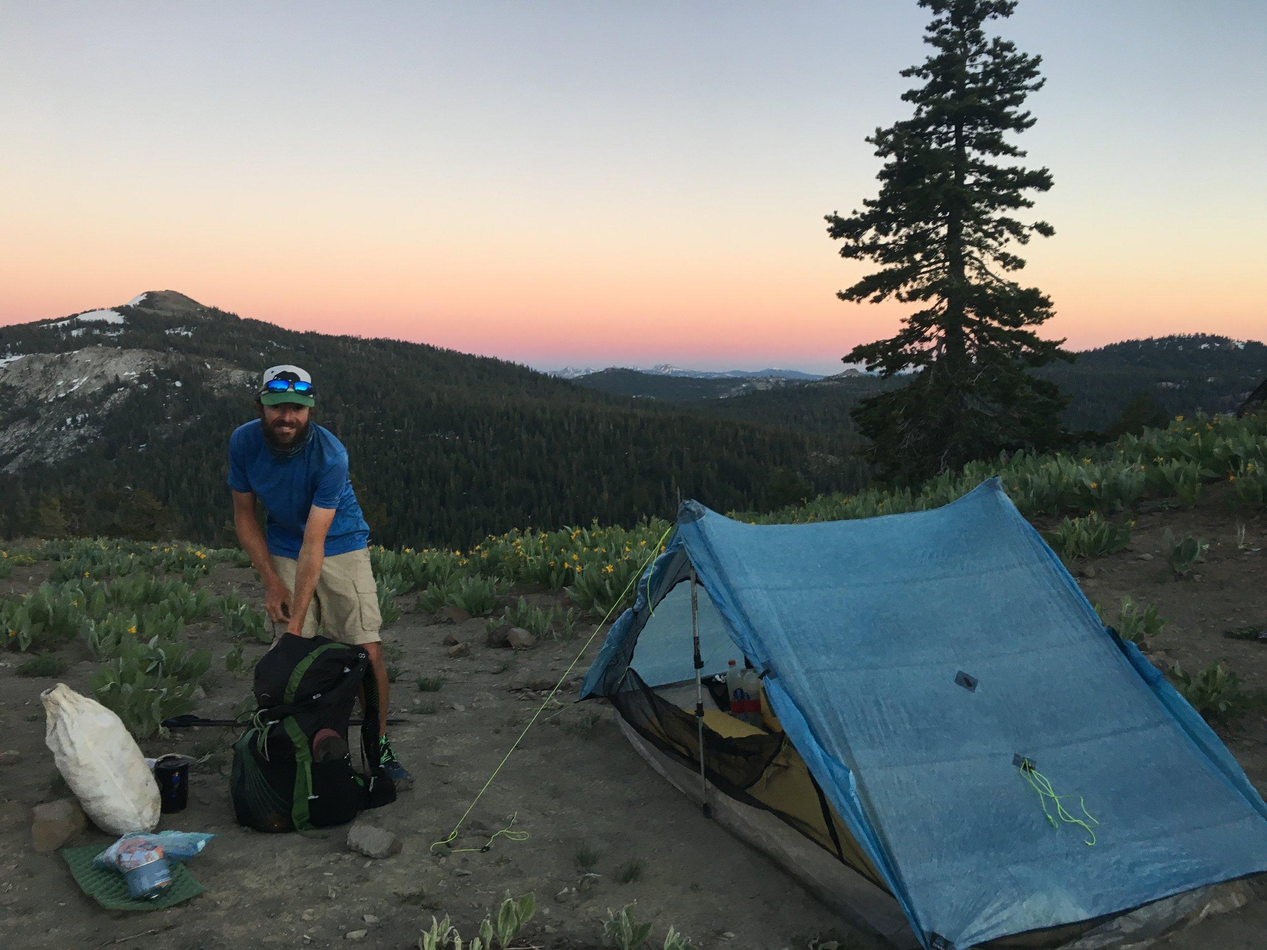 Sweet camp spot