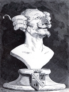Baron Munchausen by Gustav Doré