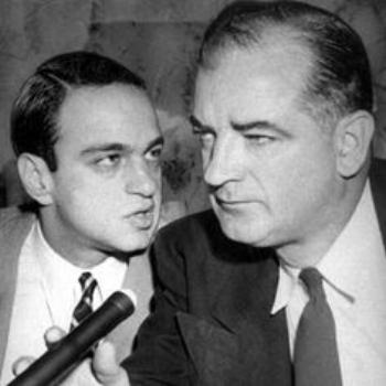 Roy Cohn and Sen. Joseph McCarthy