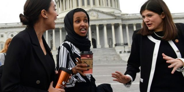 Reps. Ocasio-Cortez, Omar and Tlaib