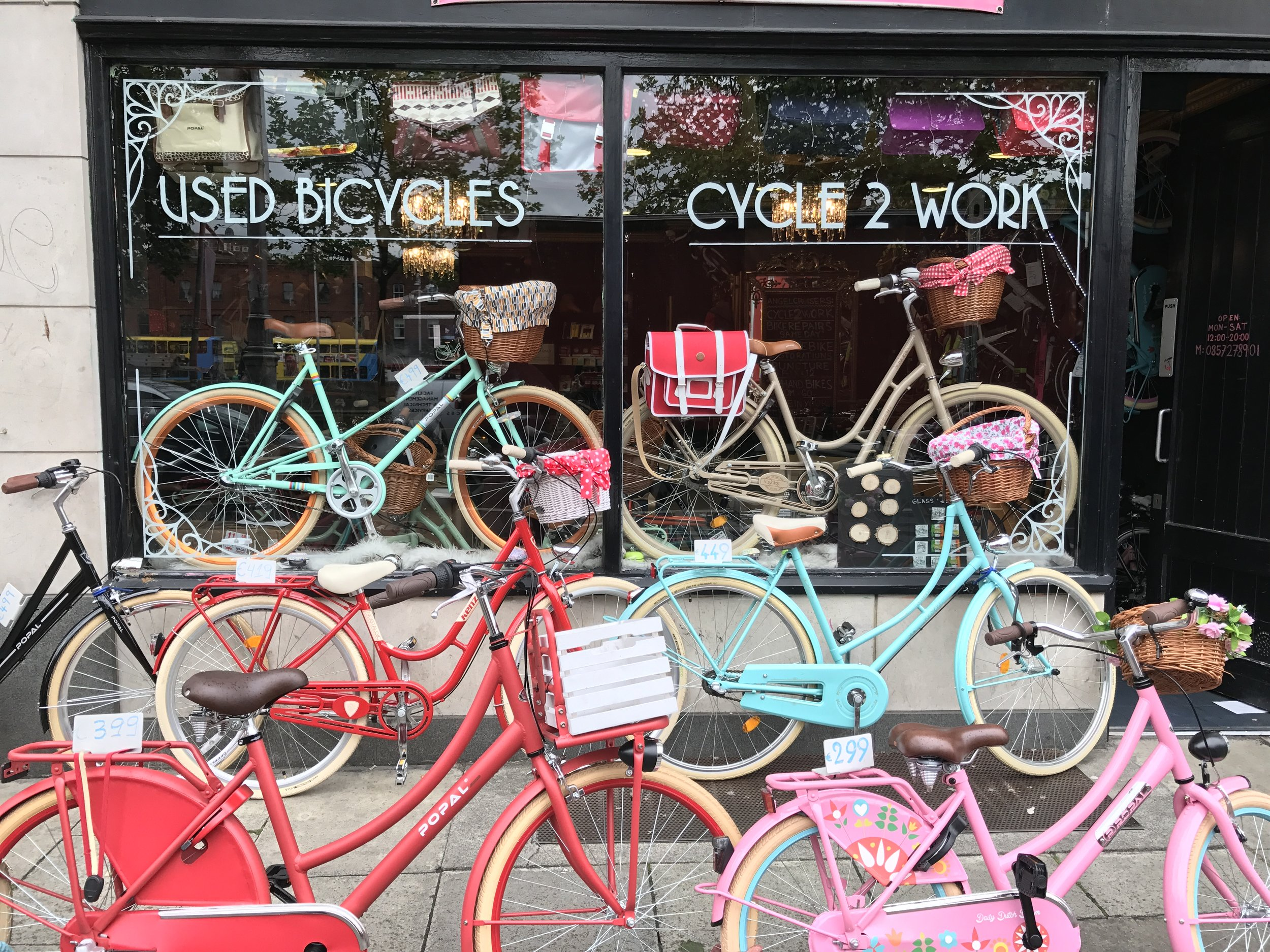 Dublin, Ireland in Video: Bikes and no plastic bags! -