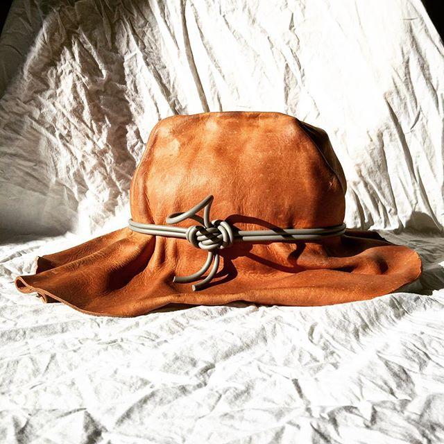 . . . contemporary cowboy #hatmaking #prototype #designprocess #design #inthestudio #bradleylbowers