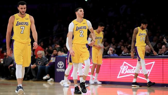 LONZO BALL, BRANDON INGRAM AND KYLE KUZMA WERE AMONGST THOSE CHOSEN TO TAKE PART IN THE RISING STAR CONTEST IN FEBRUARY.