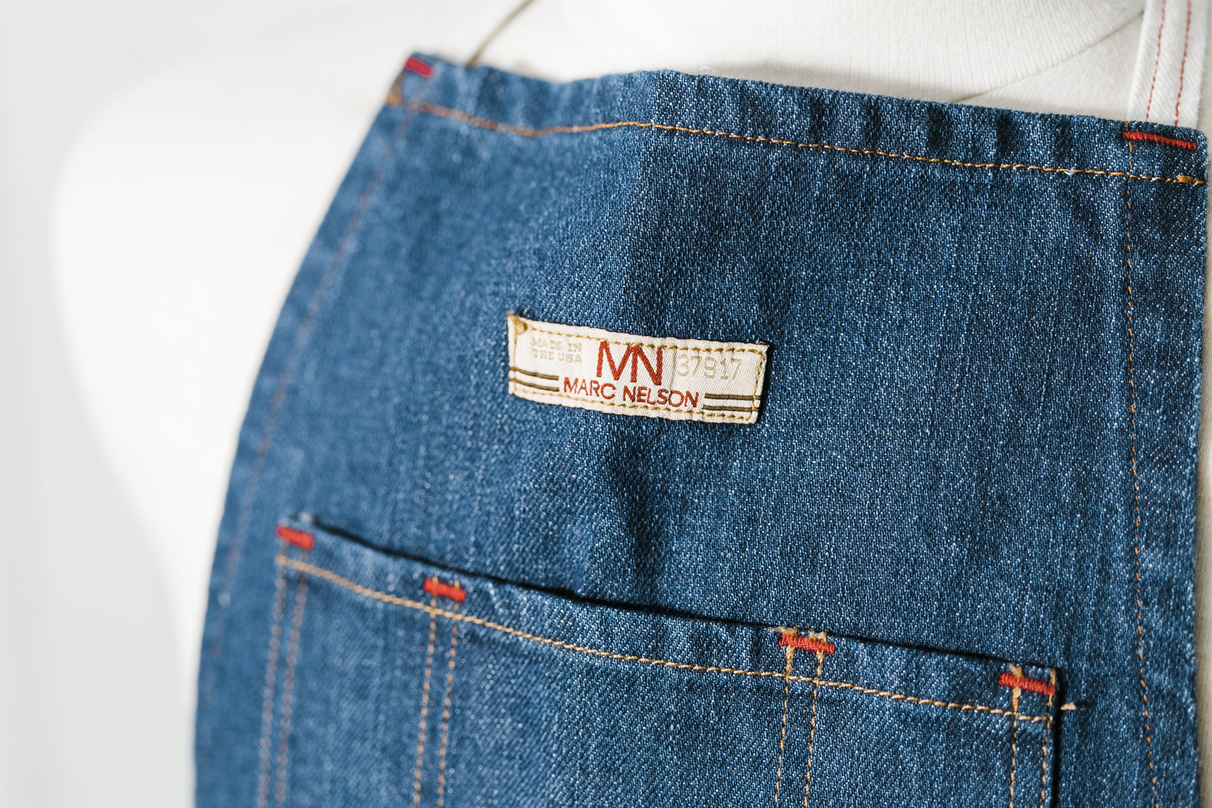 Knoxville Commercial Product Photographer Marc Nelson Denim Apron