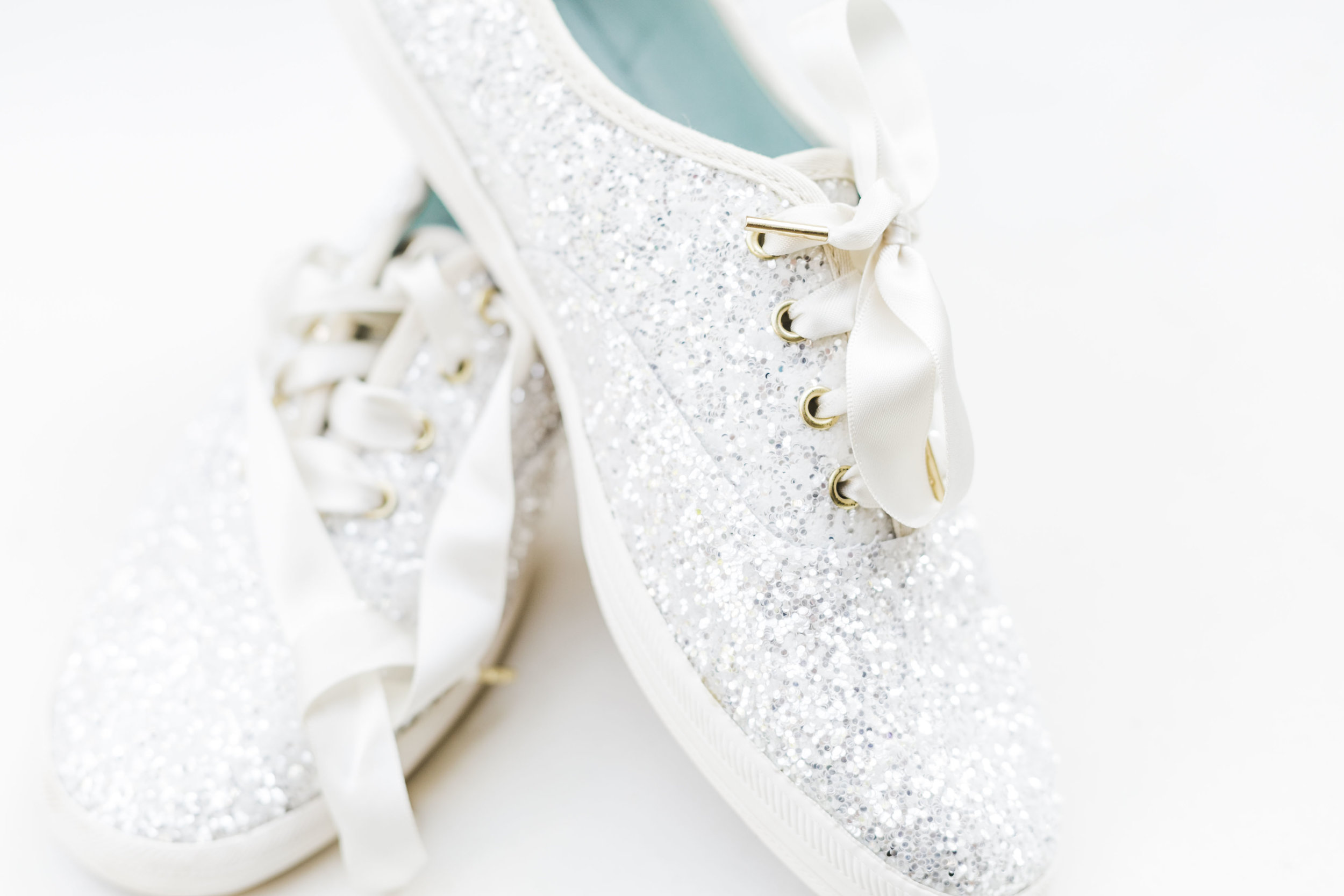 kate spade bridal shoes glitter