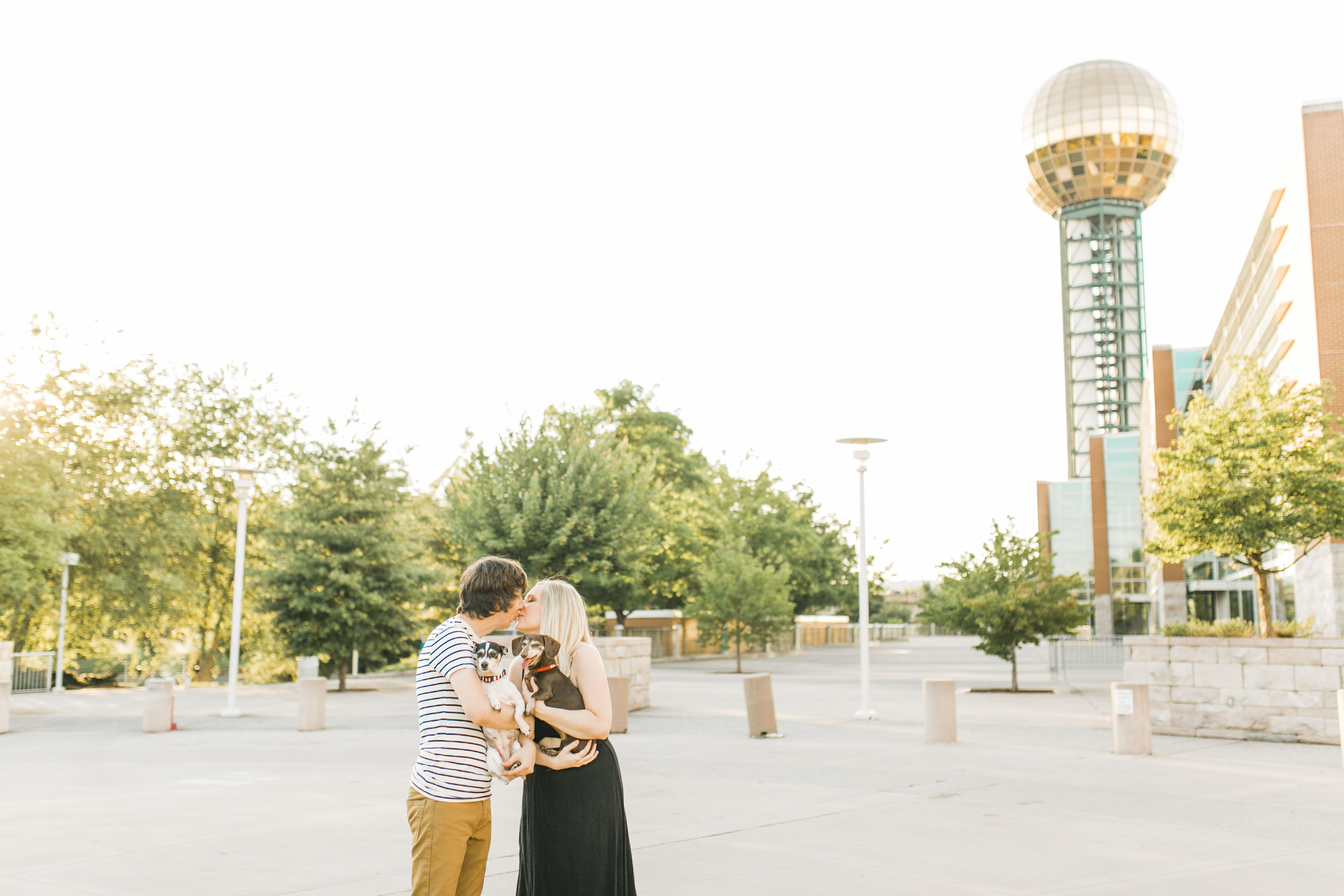 sunsphere engagement photography knoxville
