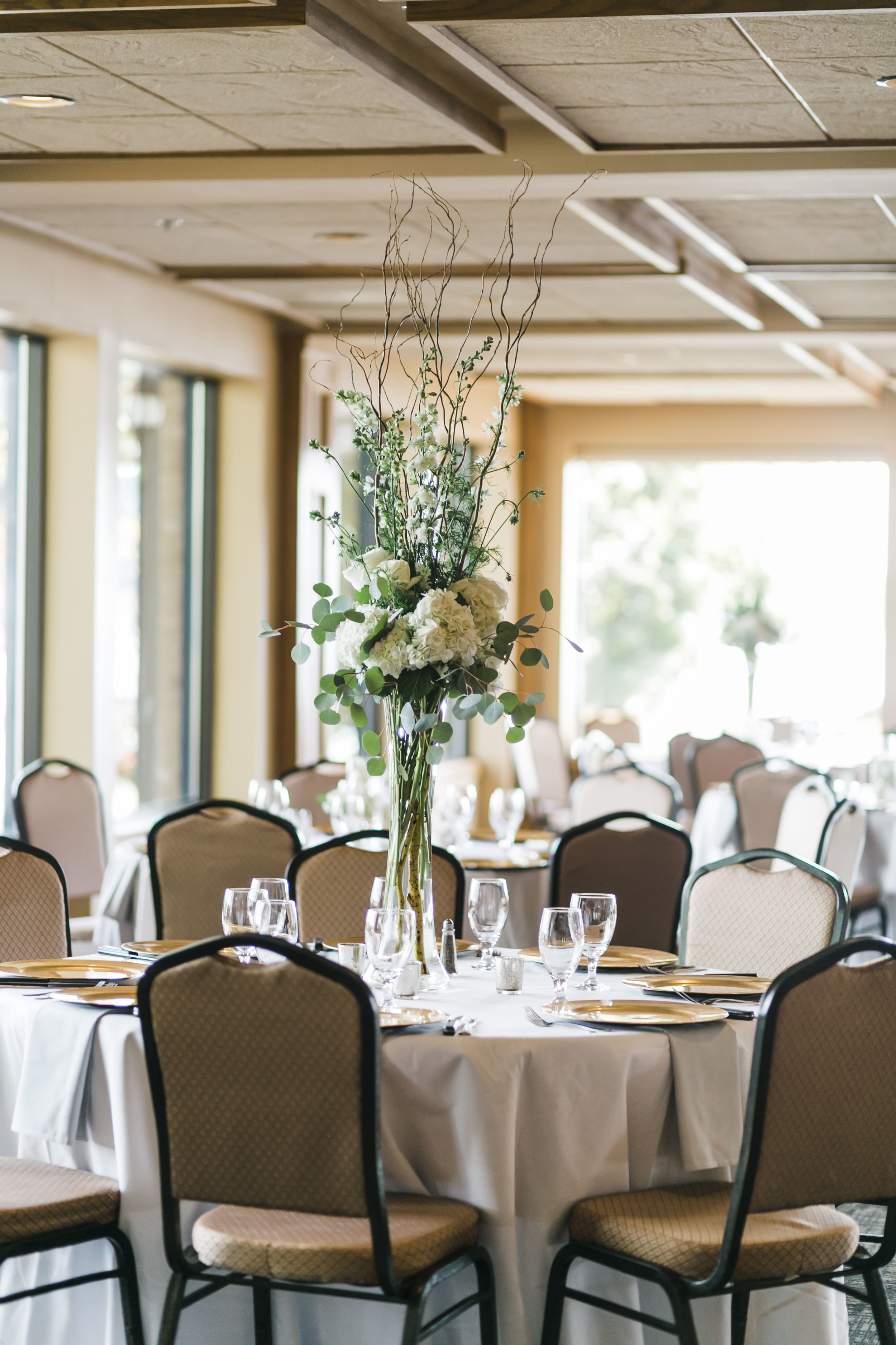 reception tellico village yacht club wedding