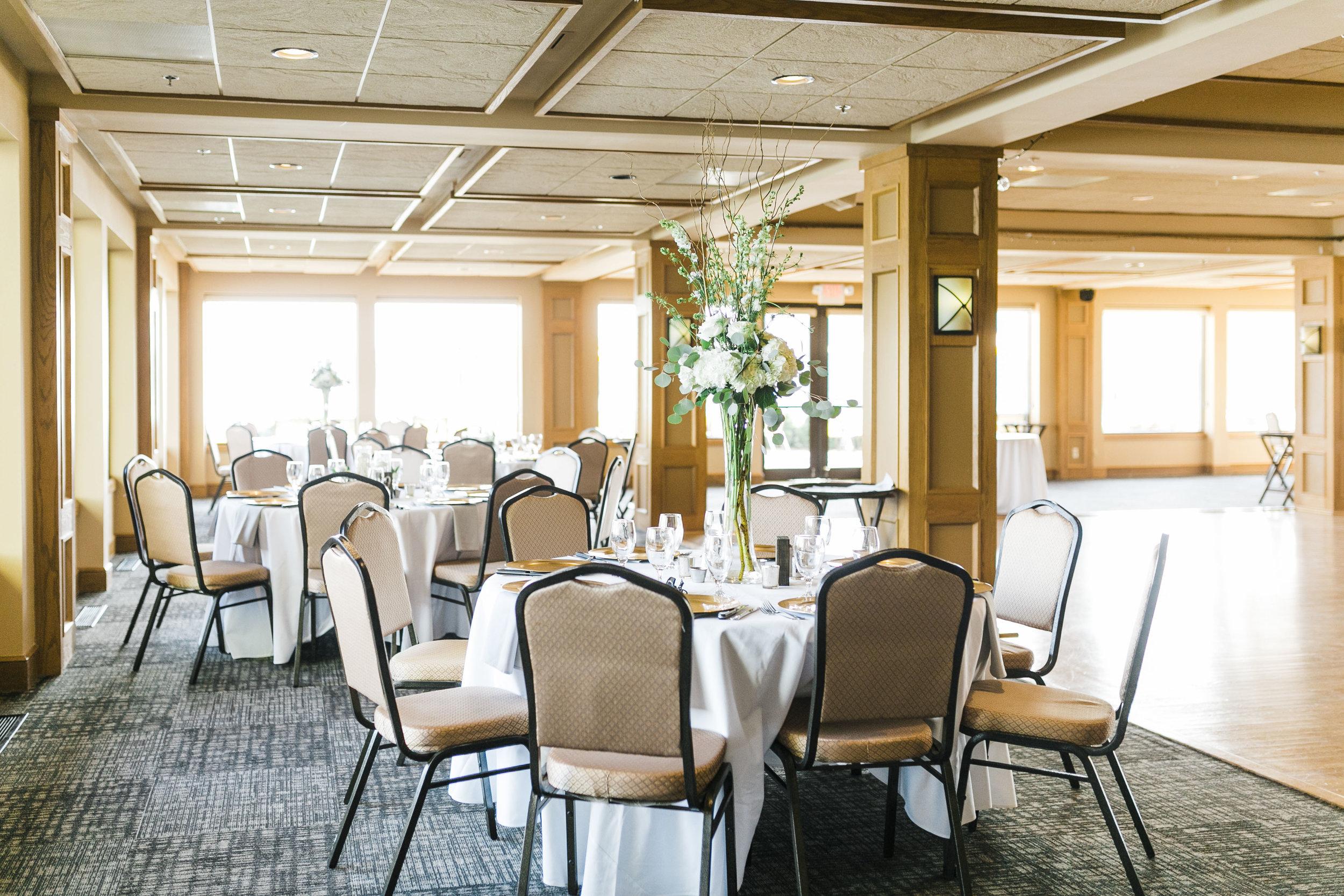 tellico village yacht club wedding indoor ballroom knoxville