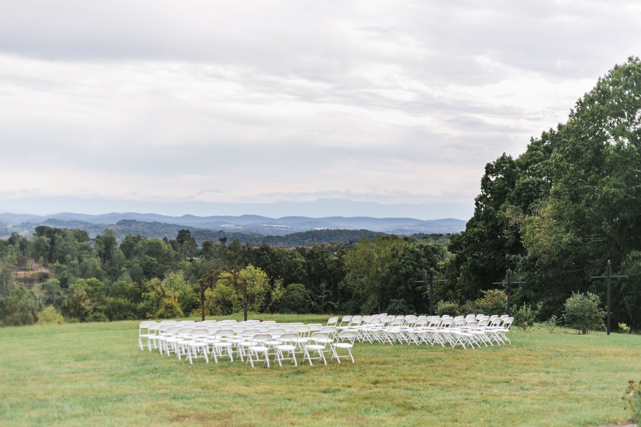 venue with view of mountains smoky mountains spout spring estate
