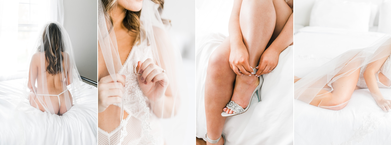 knoxville boudoir photographer Tennessee studio bridals