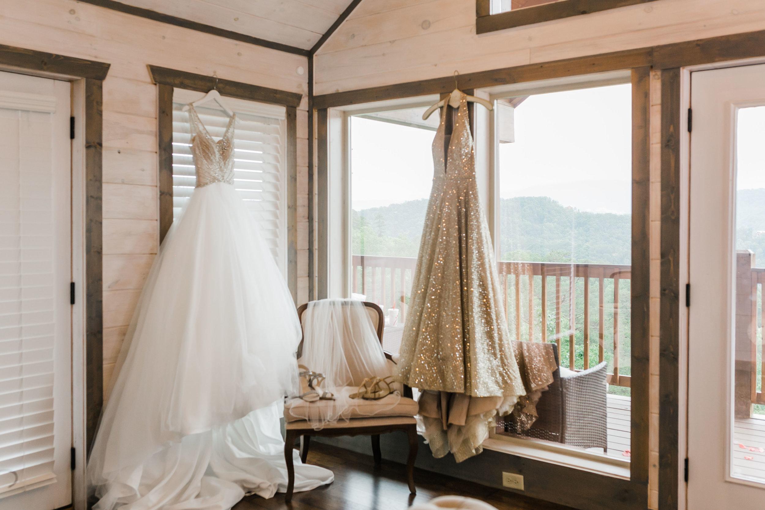 magnolia venue bridal suite smoky mountain photographer