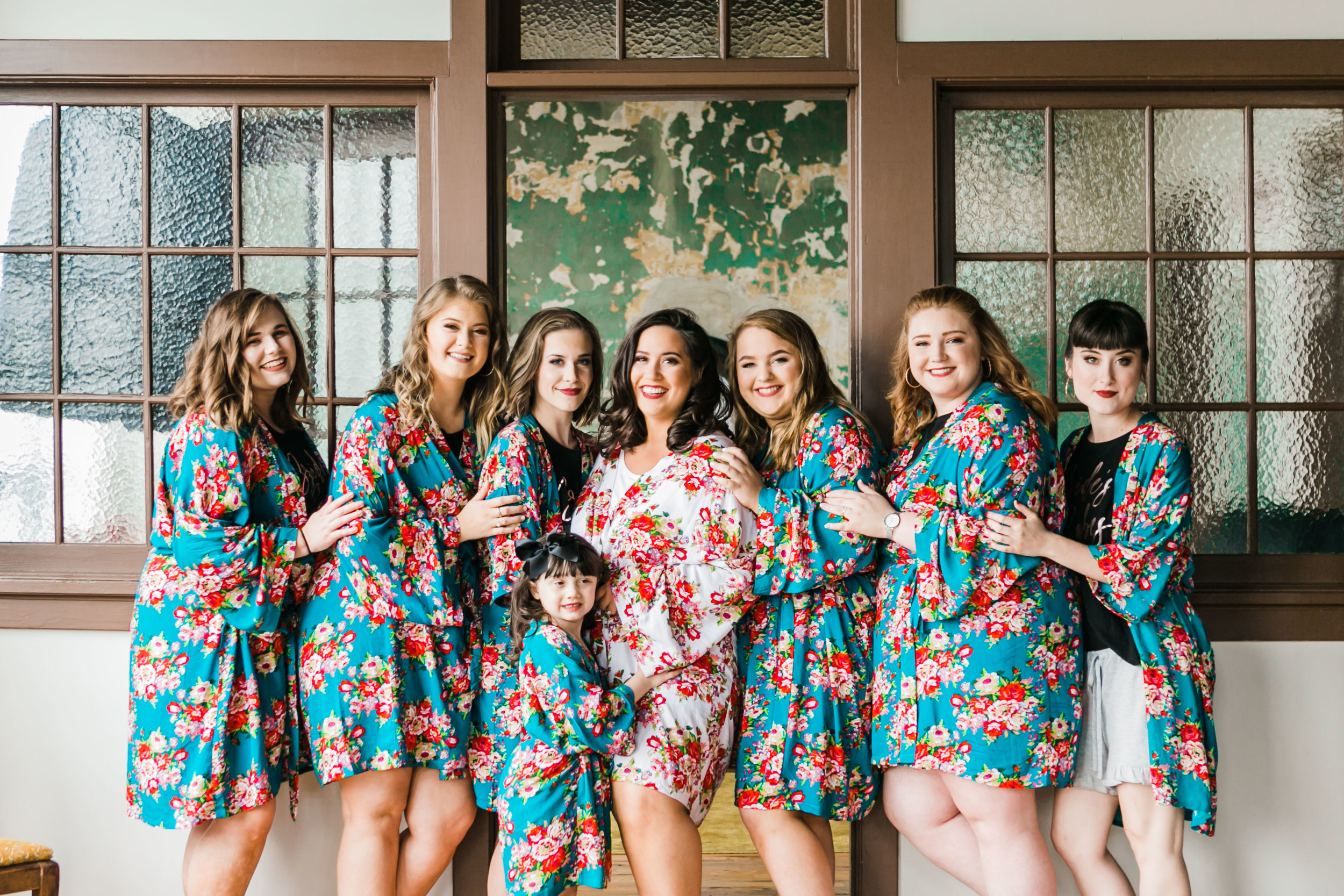 The standard knoxville bridal party