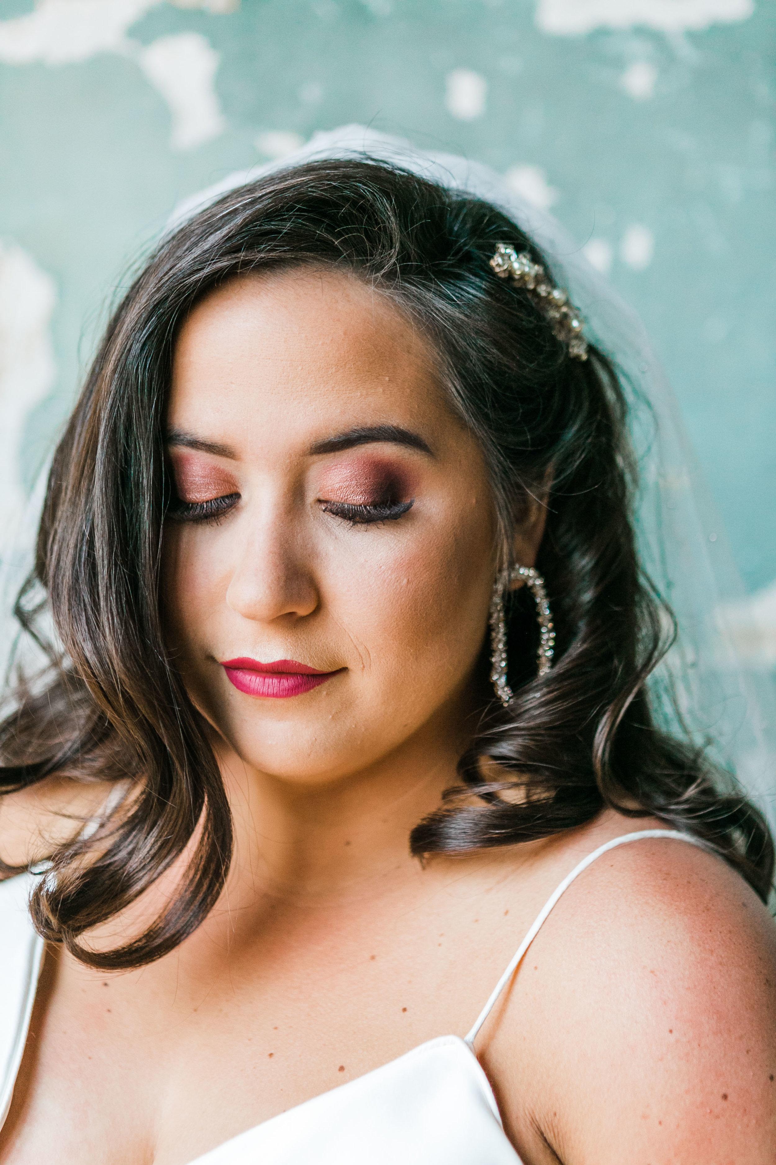 beautiful bride the standard meg Stephenson makeup