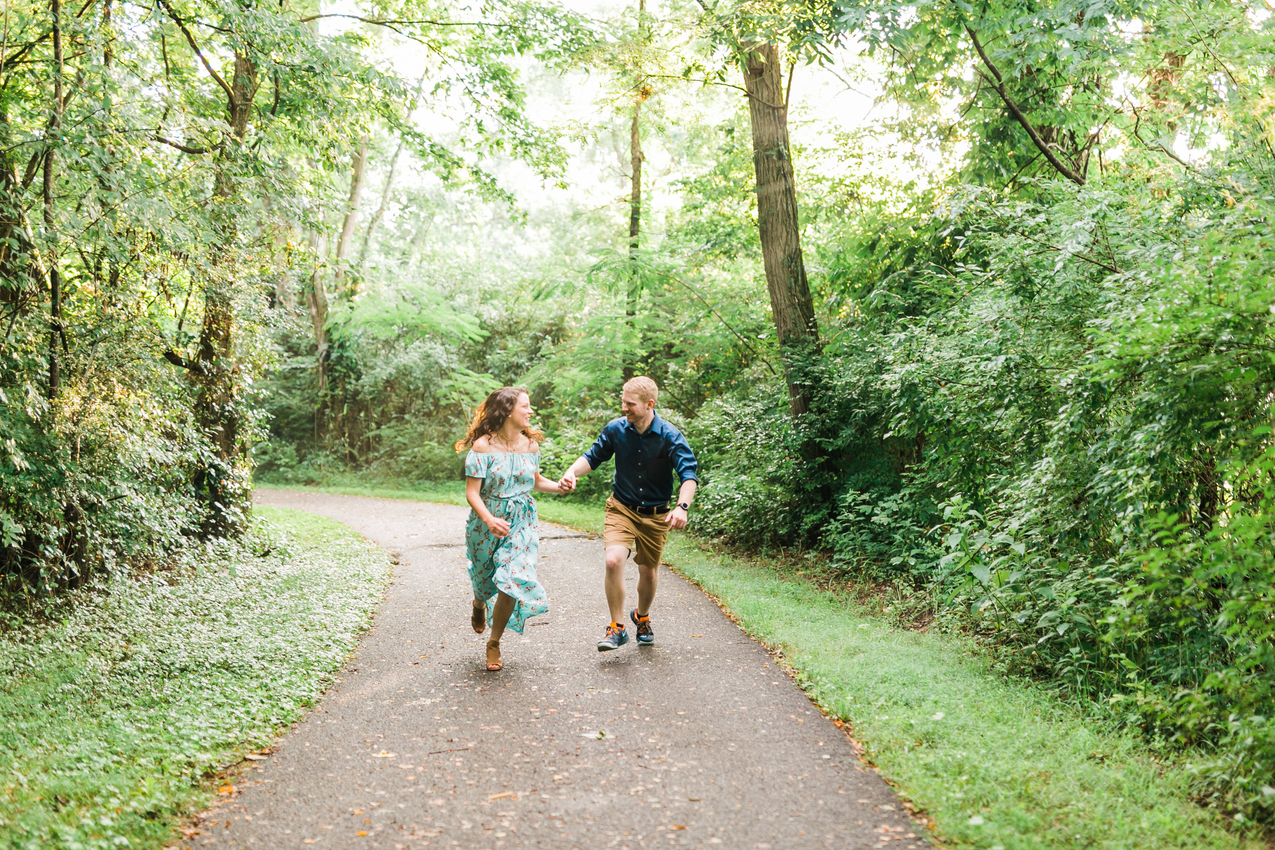 knoxville tn engagement photographer