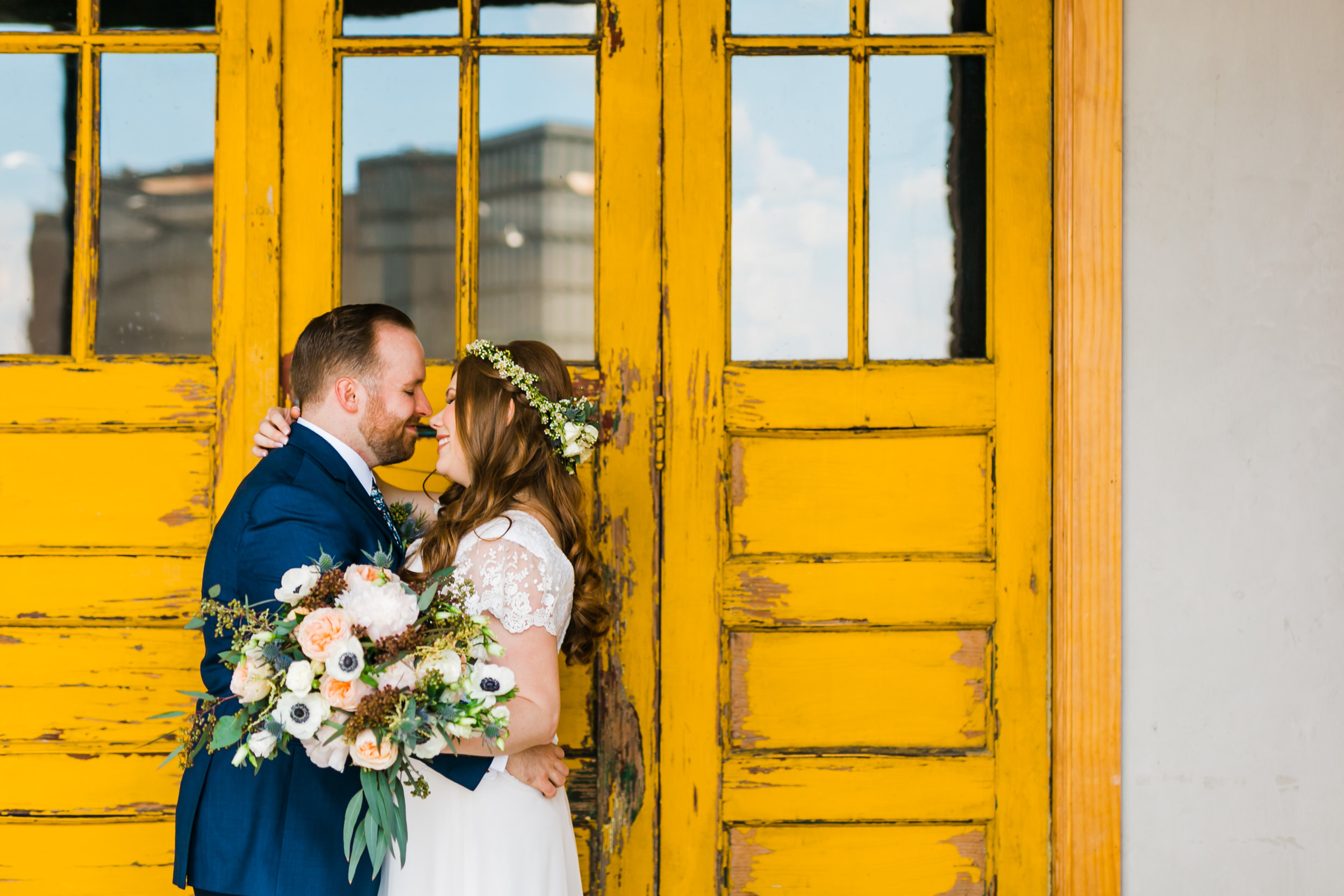 yellow door wedding knoxville the standard