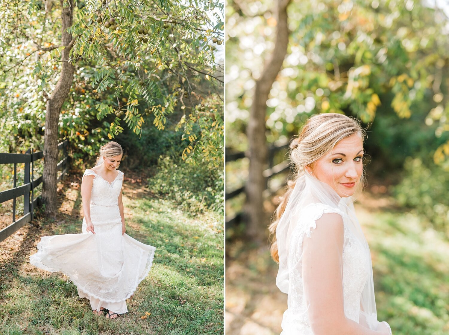 bridals outdoors blonde 4 points farm September