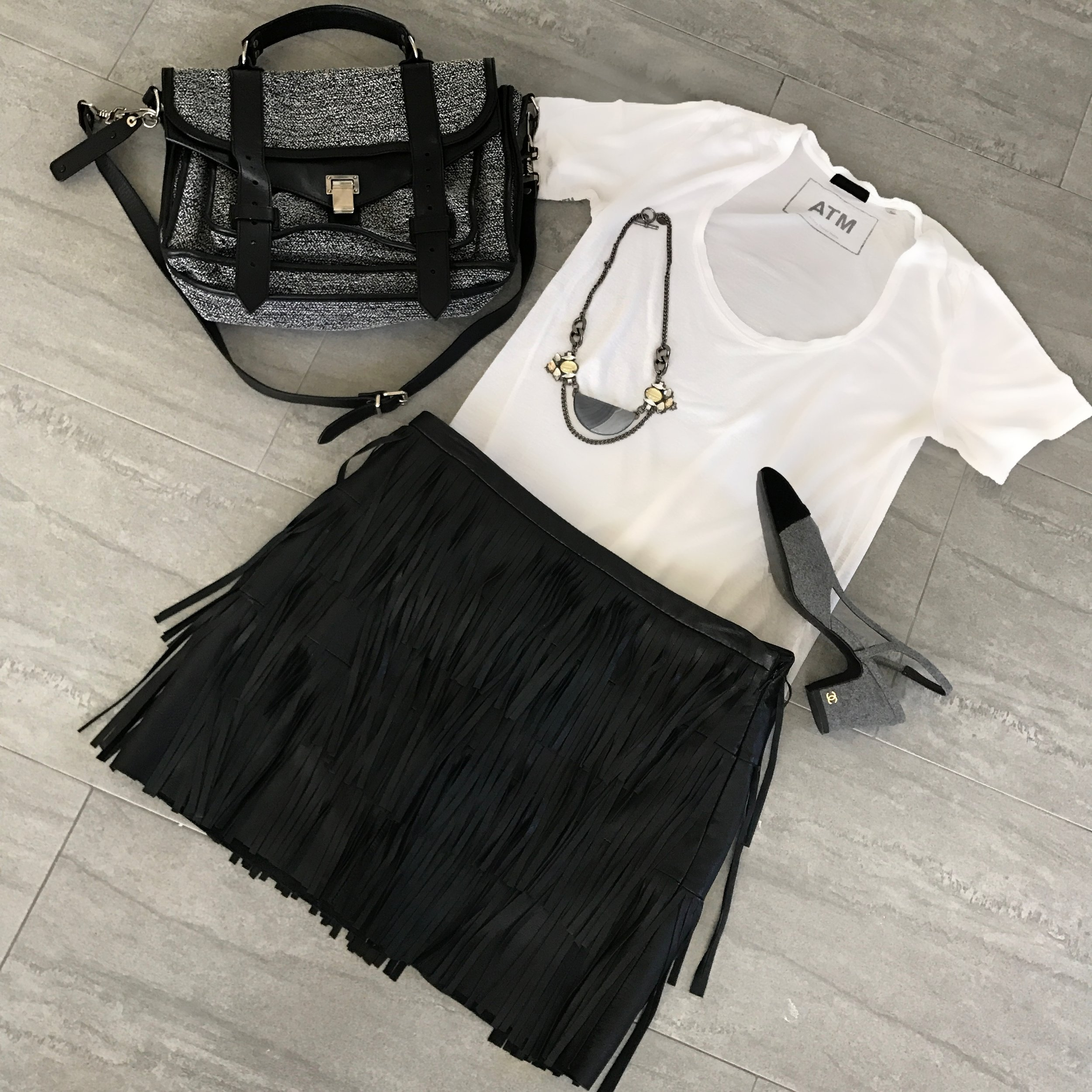 fringe skirt style advice