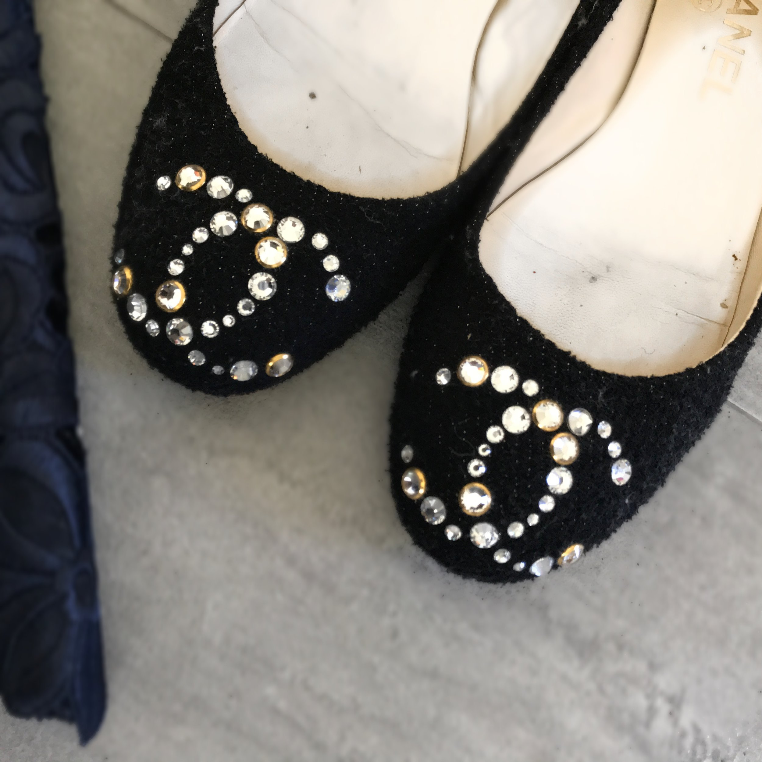 chanel crystal flats fashion advice