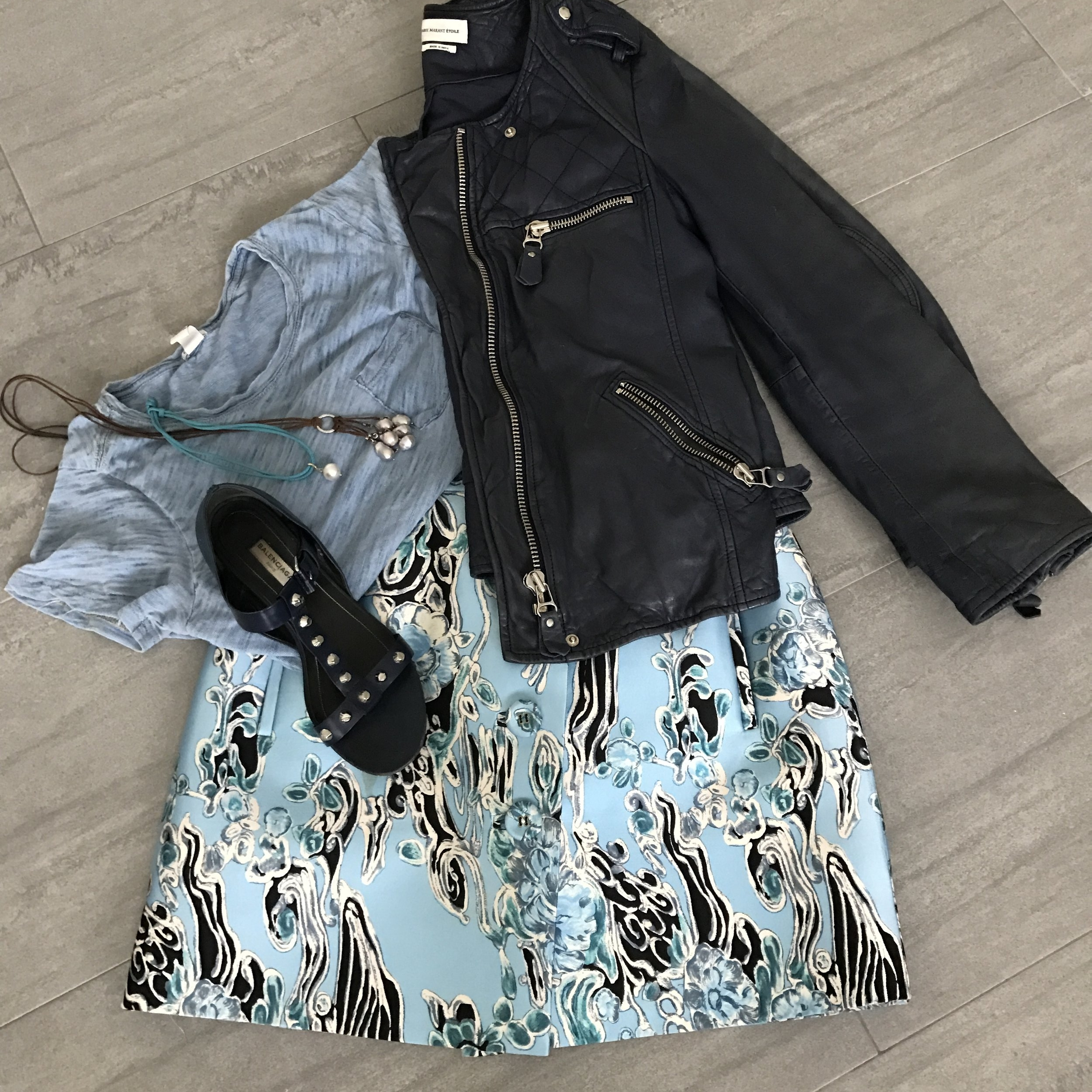 styled outfit personal shopper