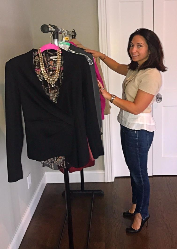 wardrobe stylist shopper