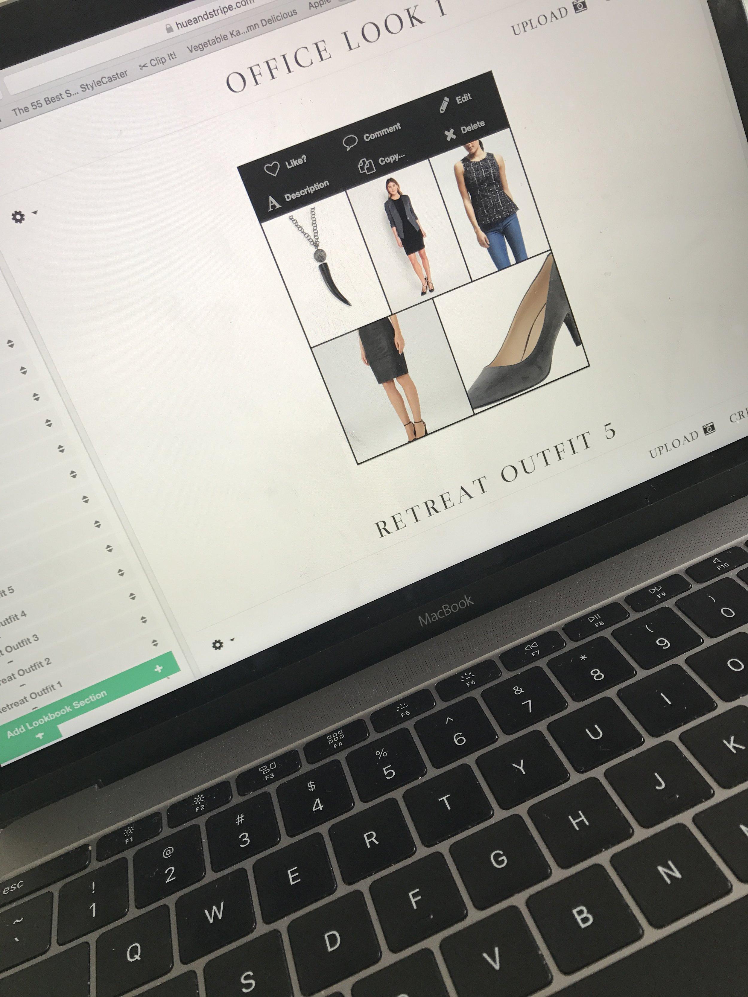 virtual closet wardrobe