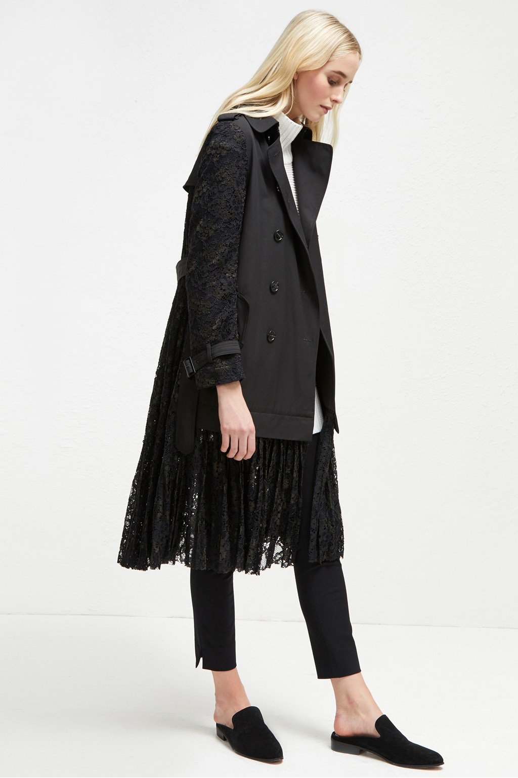 I'm in love with this lace trench from french connection that is on sale for $140