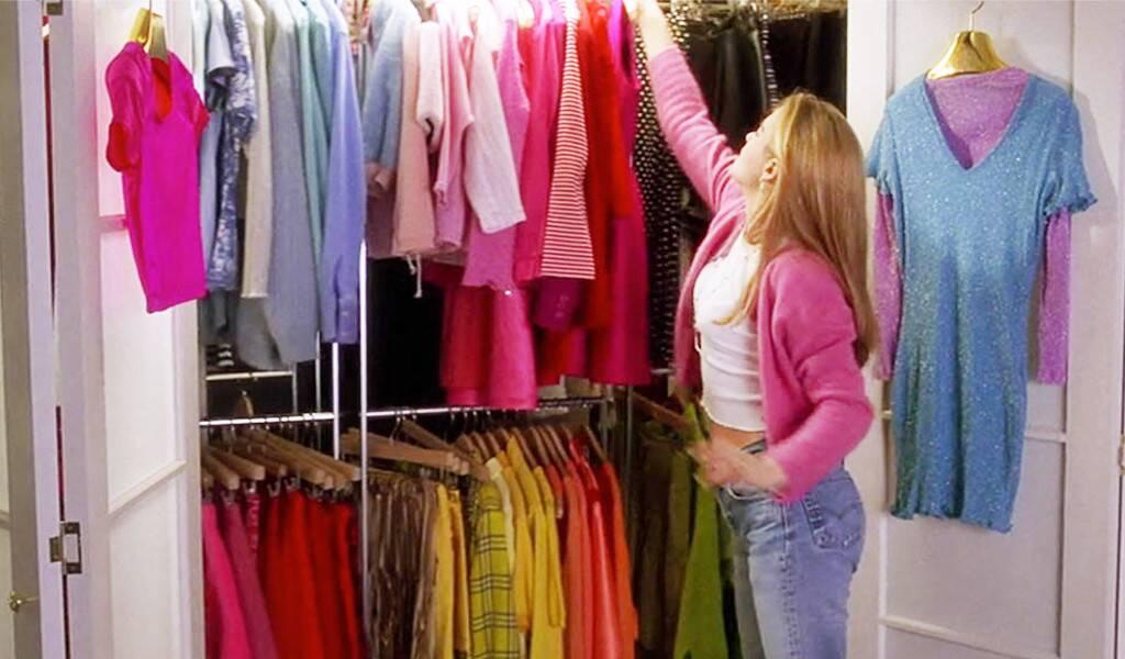 stylist wardrobe closet