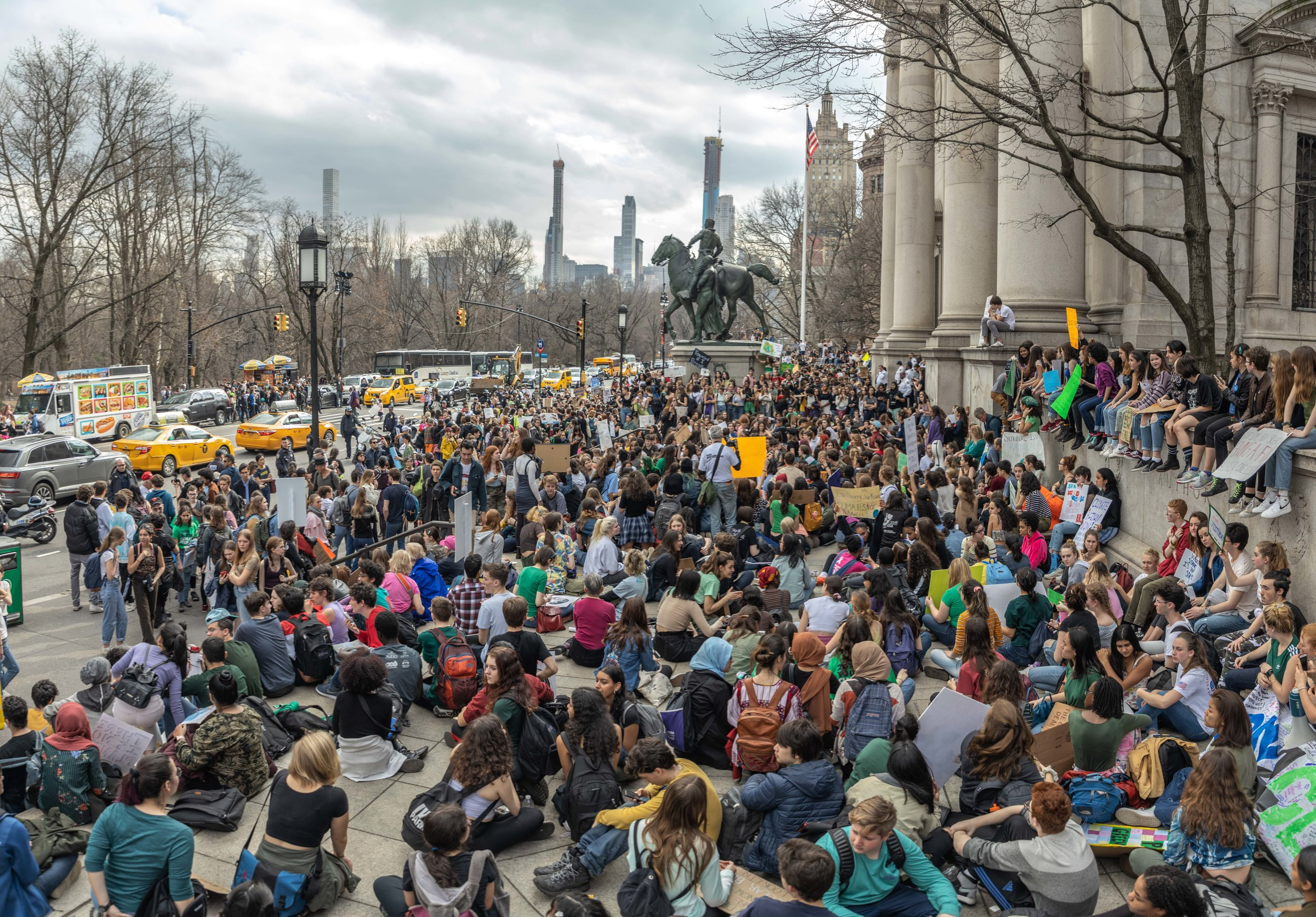 Sit-in at Koch Brothers organized by March On and Katie Eder